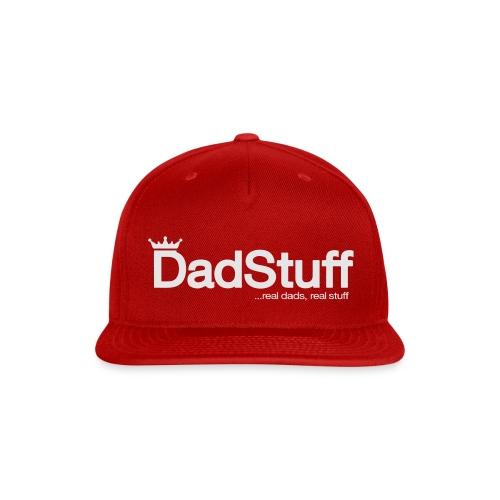 DadStuff Full View - Snap-back Baseball Cap