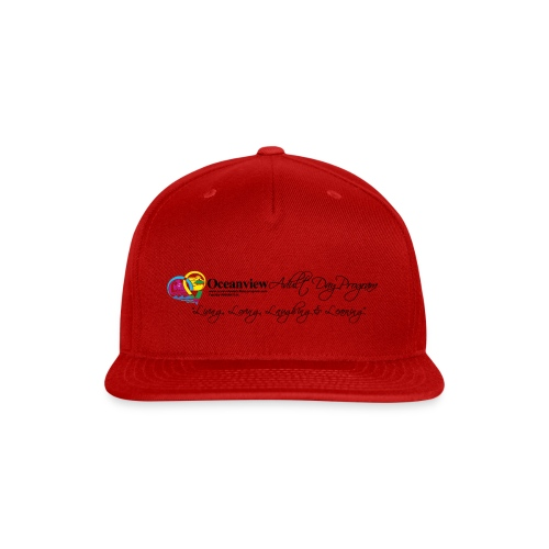 DAY PROGRAM LOGO BLACK - Snap-back Baseball Cap