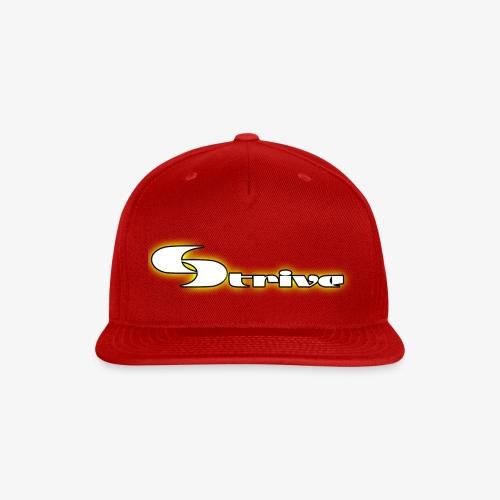 Strive Written Logo - Snapback Baseball Cap