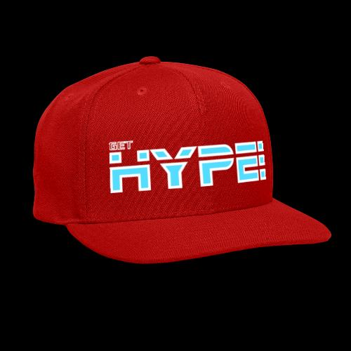 GET HYPED WITH SAKER!!! - Snap-back Baseball Cap