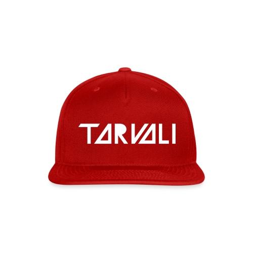 Tarvali White Logo - Snap-back Baseball Cap