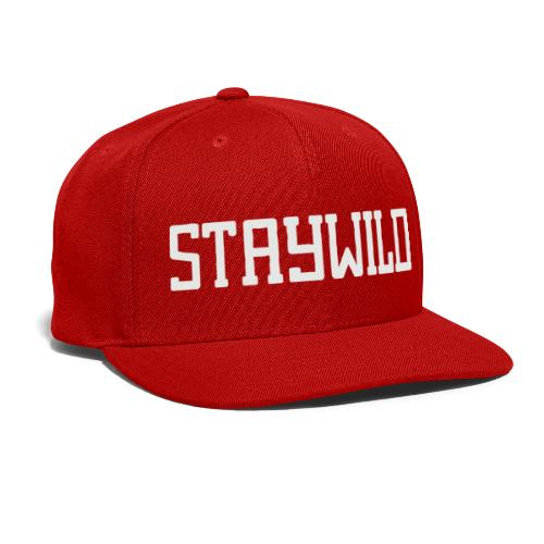 STAYWILD - Snap-back Baseball Cap