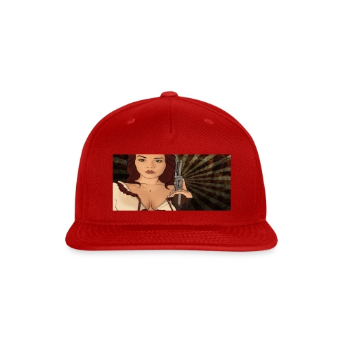 jjj copy png - Snap-back Baseball Cap