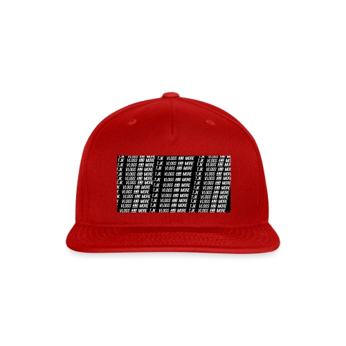 TJK First Apparel Design - Snap-back Baseball Cap