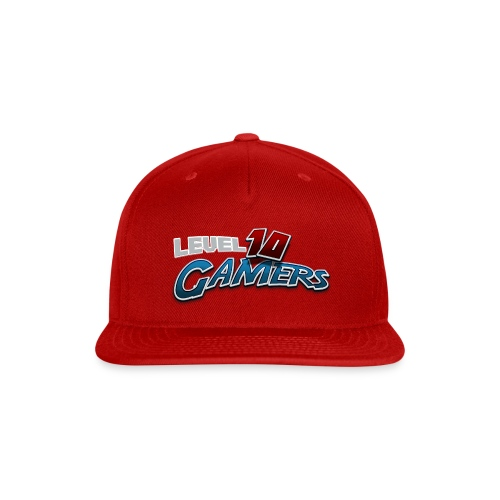 Level10Gamers Logo - Snap-back Baseball Cap