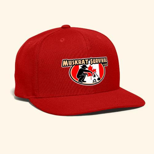 Muskrat Badge 2019 - Snap-back Baseball Cap