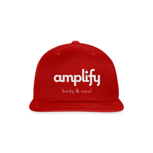 amplify logo - Snap-back Baseball Cap