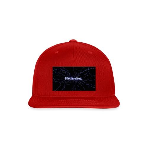 backgrounder - Snap-back Baseball Cap