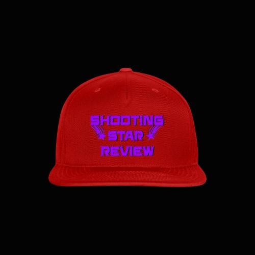 Shooting Star Review Purple Logo - Snap-back Baseball Cap