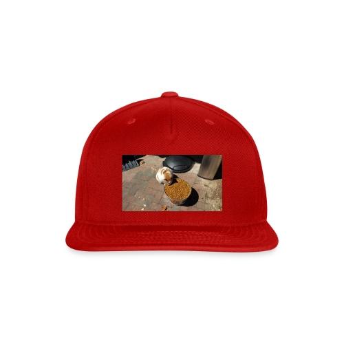 Hungry cat - Snap-back Baseball Cap