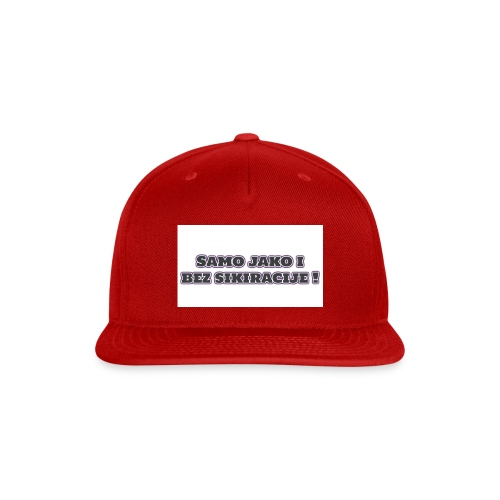 samo jako - Snap-back Baseball Cap