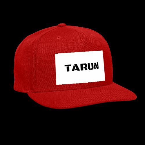 THE TARUN MERCH - Snap-back Baseball Cap