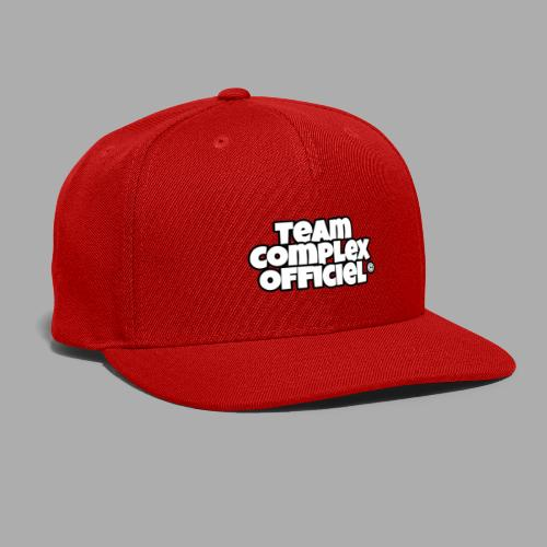 Team Complex Officiel - Snapback Baseball Cap