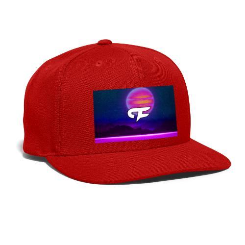 FLORA BIG LOGO - Snapback Baseball Cap