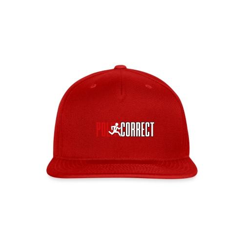 POLITICORRECT - Snap-back Baseball Cap