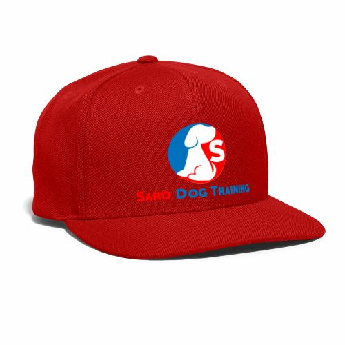 saro dog training logo - Snap-back Baseball Cap