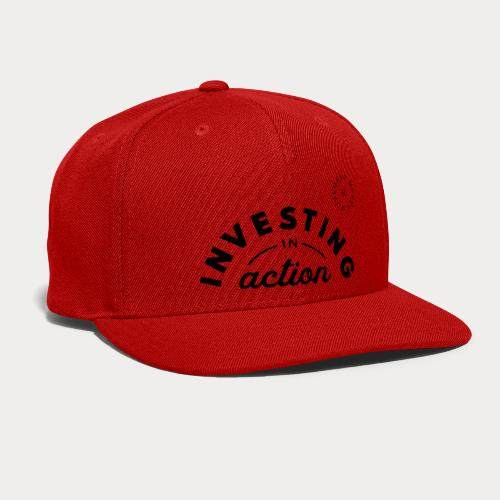Investing in Action - Snap-back Baseball Cap