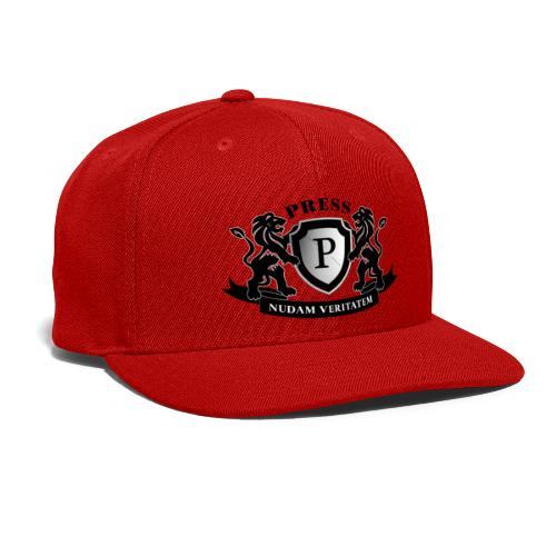 Press Brandshirt - Snap-back Baseball Cap