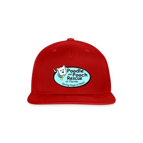 Poodle and Pooch Logo - Snap-back Baseball Cap