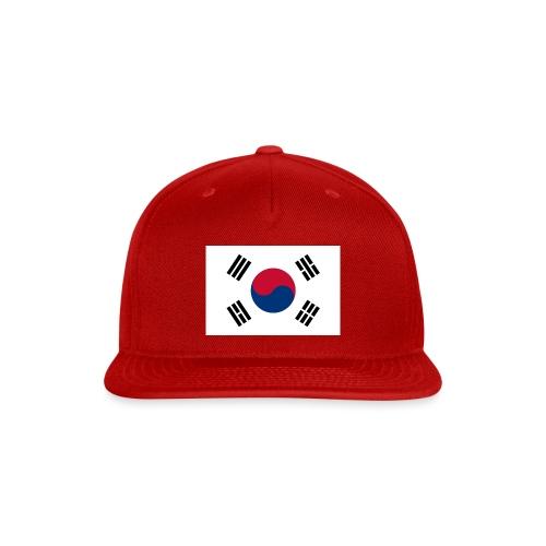Flag of South Korea - Snap-back Baseball Cap