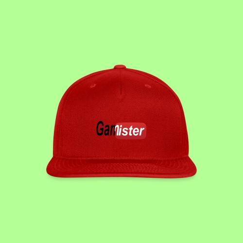 gamister_shirt_design_6 - Snap-back Baseball Cap