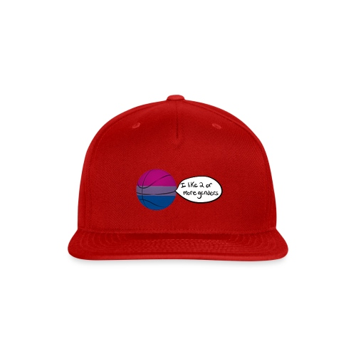 Bible/Bi-Ball Pun (For Those Who Like to Explain) - Snap-back Baseball Cap