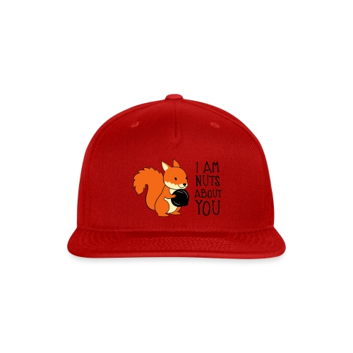 I am nuts about you - Snap-back Baseball Cap