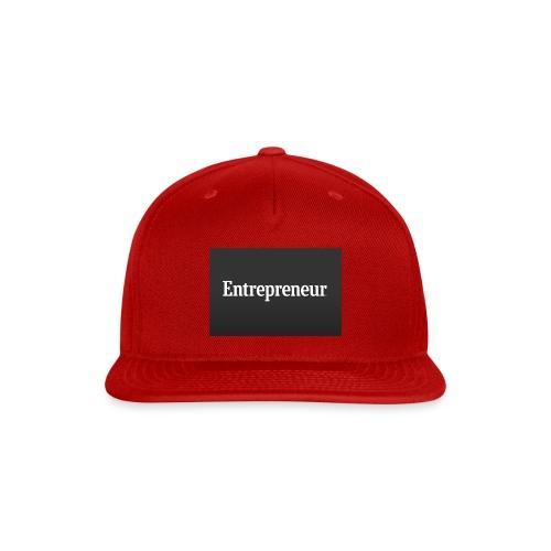 Entrepreneur - Snap-back Baseball Cap