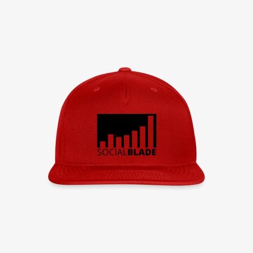 SB Blackout Logo - Snap-back Baseball Cap