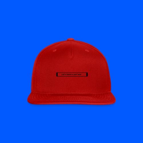 Nerf™ War design - Snap-back Baseball Cap