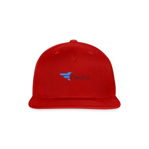 Flectra Official Logo Merchandise - Snap-back Baseball Cap