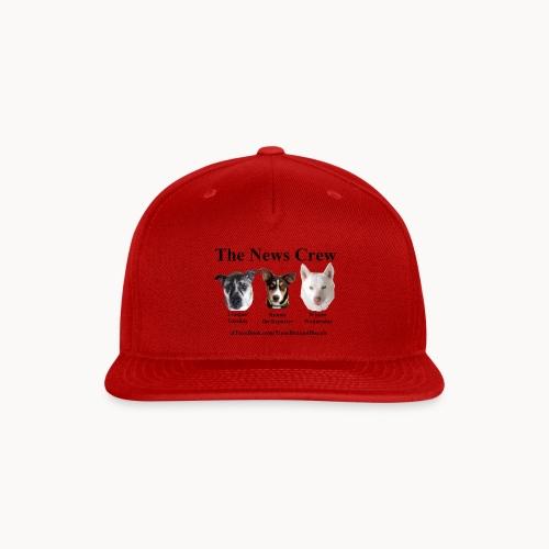 NewsCrew - Snap-back Baseball Cap