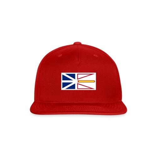 1200px Flag of Newfoundland and Labrador svg - Snapback Baseball Cap