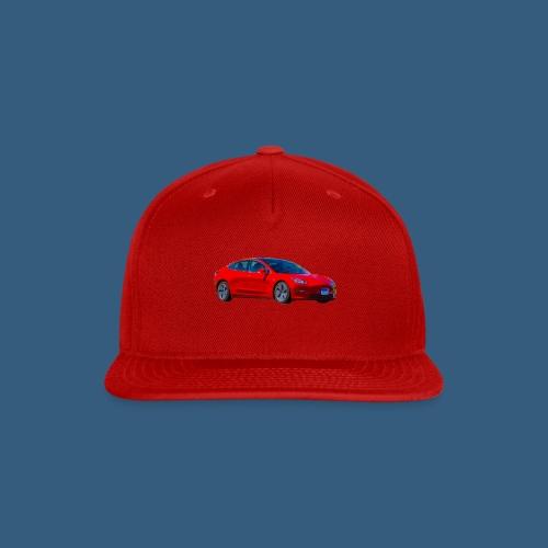 model 3 water color - Snap-back Baseball Cap