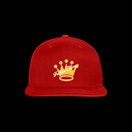 Fashion Kingz Clothing Official Crown Logo - Snap-back Baseball Cap
