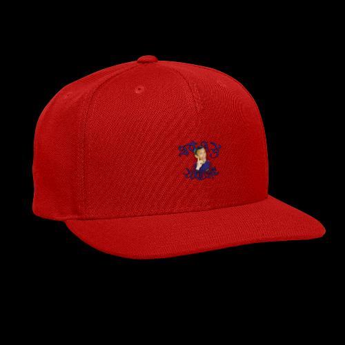 Stay Woke small logo - Snap-back Baseball Cap