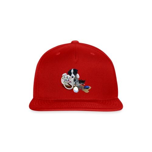 CrazyOldMom Twitch Logo - Snap-back Baseball Cap