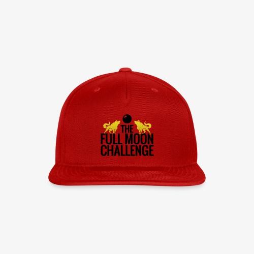 Full Moon Challenge Colour - Snap-back Baseball Cap