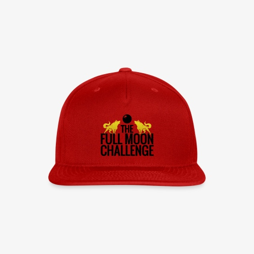 Full Moon Challenge Colour - Snapback Baseball Cap