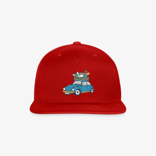 Gone Fishin' - Snap-back Baseball Cap