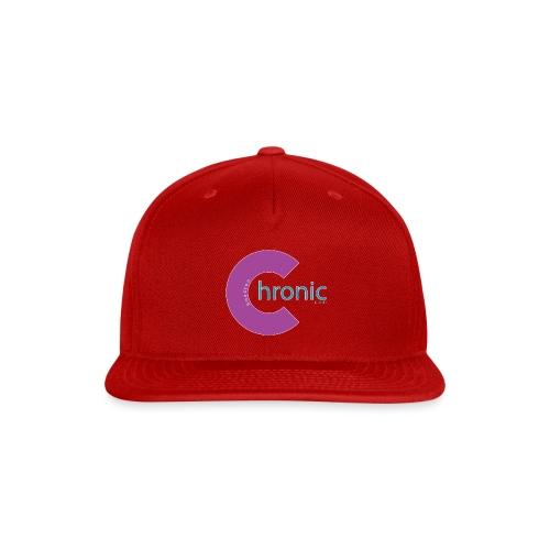 Houston Chronic - Purp C - Snap-back Baseball Cap