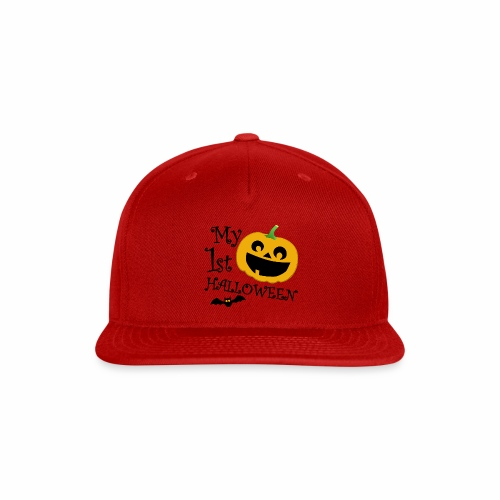 My First Halloween - Snap-back Baseball Cap