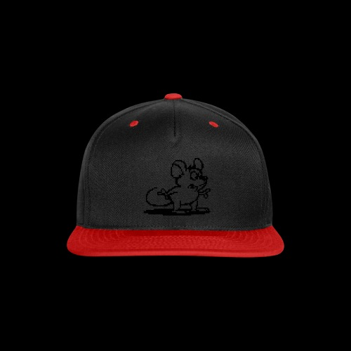my neon blue mouse by bmx3r - Snap-back Baseball Cap