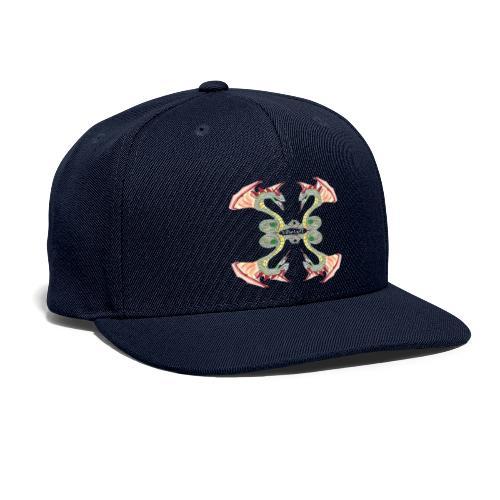 Lowlyfe Logo w/ Centered Text - Snapback Baseball Cap