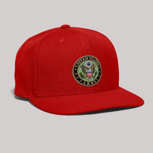 Worn US Army Seal - Snap-back Baseball Cap