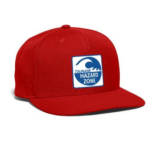Tsunami Hazard Zone - Snap-back Baseball Cap