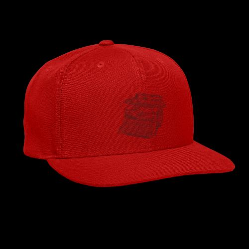 Typewritten Logophile - Snap-back Baseball Cap