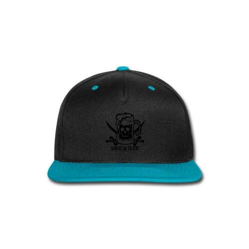 Beerate - black - Snap-back Baseball Cap