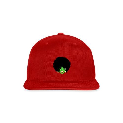 GREEN AFRO - Snap-back Baseball Cap