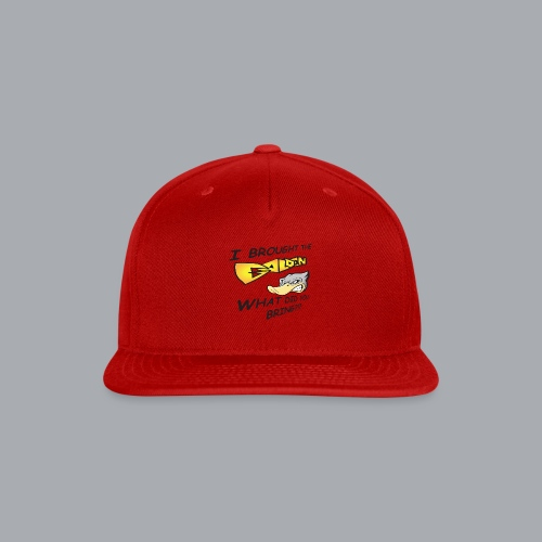 I brought the awesome - Snap-back Baseball Cap